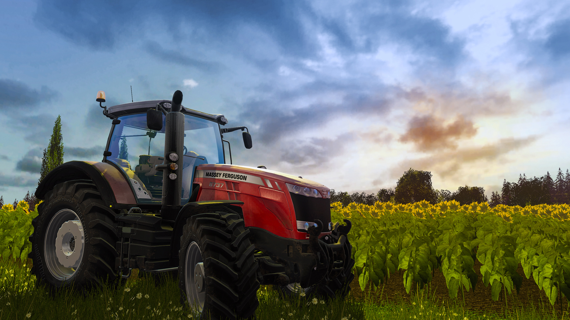 Первые скриншоты Farming Simulator 17