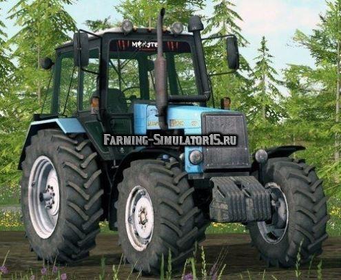 Мод трактор МТЗ 1221 сарэкс Фермер Симулятор 2015