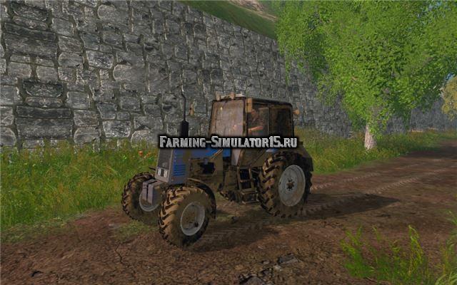 Мод трактор МТЗ-892 v 2.0 Фермер Симулятор 2015