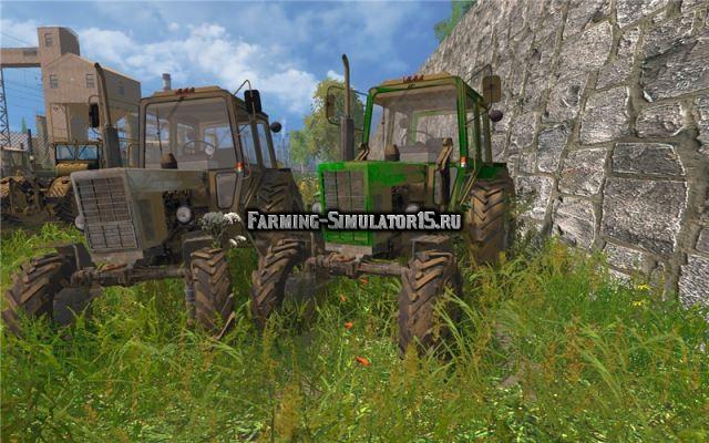 Мод ПАК тракторов МТЗ 102 с турбиной Финал Фарминг Симулятор 2015