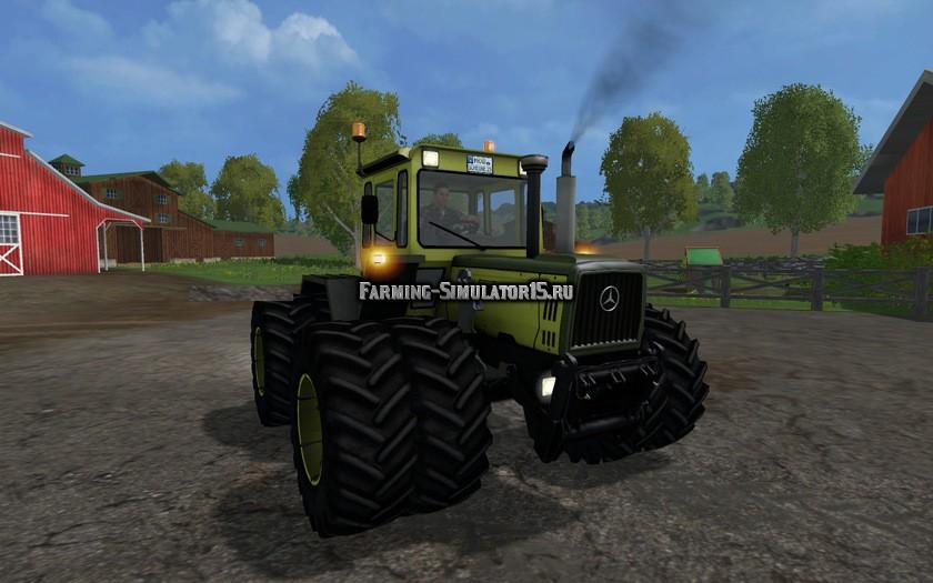Мод трактор MB Trac 1800 Intercooler v 2.0 Farming Simulator 15