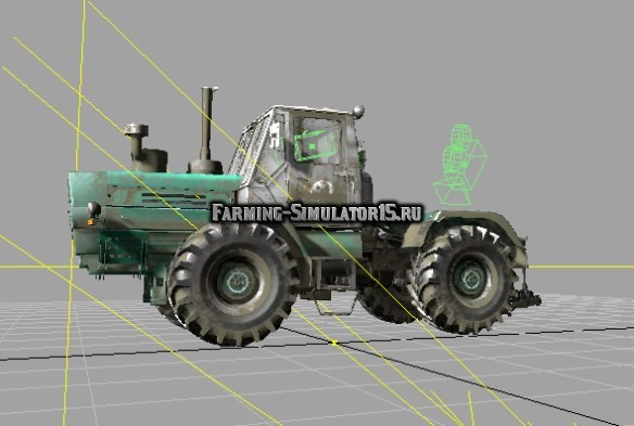 Мод трактор ХТЗ Т-150 Гена v 2.0 Фермер Симулятор 2015
