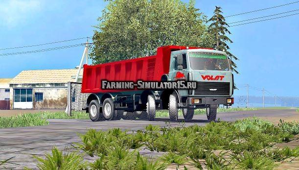 Мод грузовик МАЗ МЗКТ-65152 v 2.0 Фермер Симулятор 2015