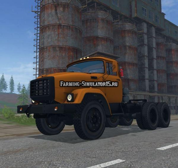 Мод грузовик ЗиЛ 133 ВЯТ v 1.0 Фарминг Симулятор 2015