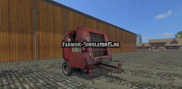 Мод тюкопресс Hesston 5580 v 1.0 Farming Simulator 15