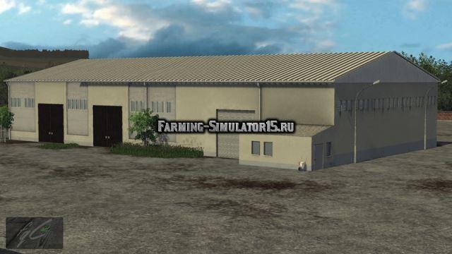 Мод хранилище LPG Storage v 1.0 Farming Simulator 15