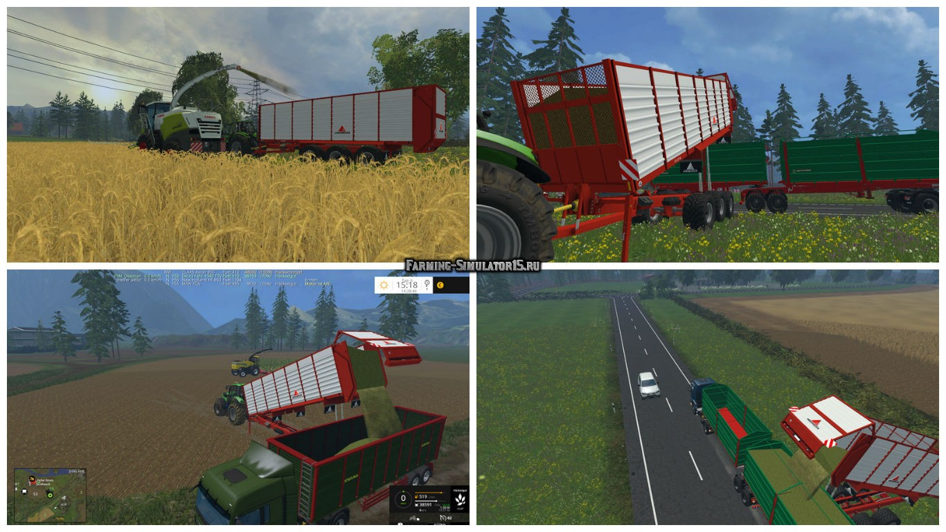 Мод прицеп Annaburger HTS 29.06 Field Liner V 1.1 Farming Simulator 2015