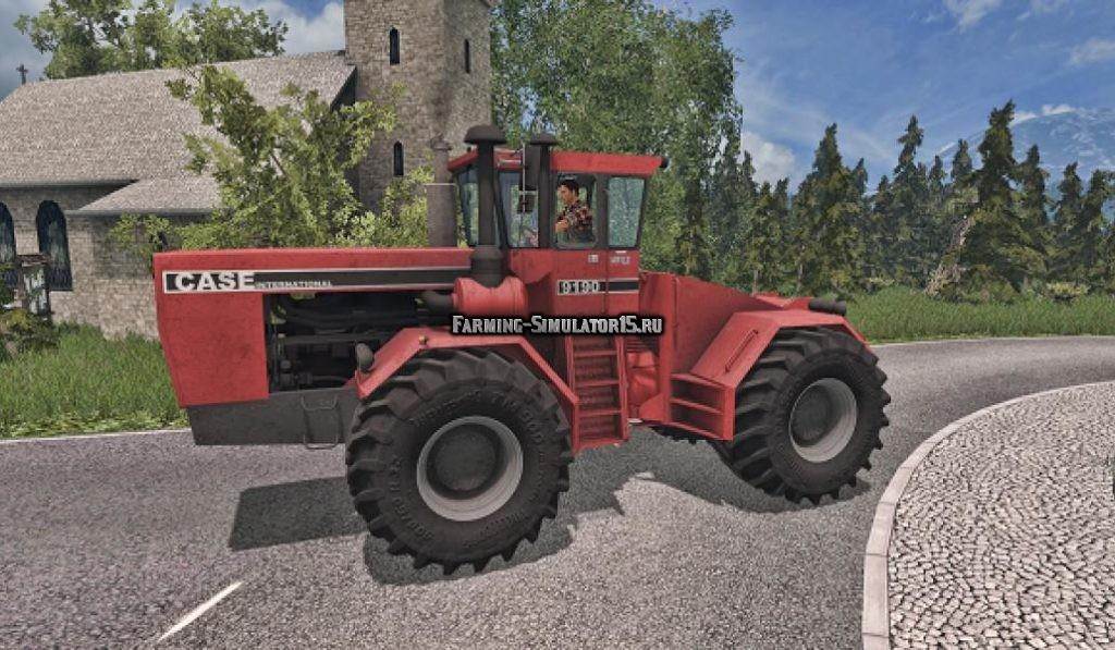 Мод трактор Case Steiger 9190 v 1.0 Farming Simulator 2015