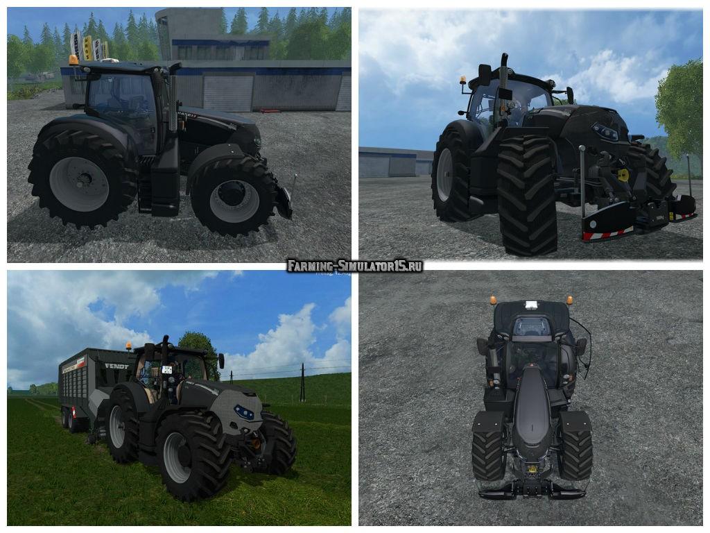 Мод трактор Case CVX 300 Optum Black v 1.5 Farming Simulator 15