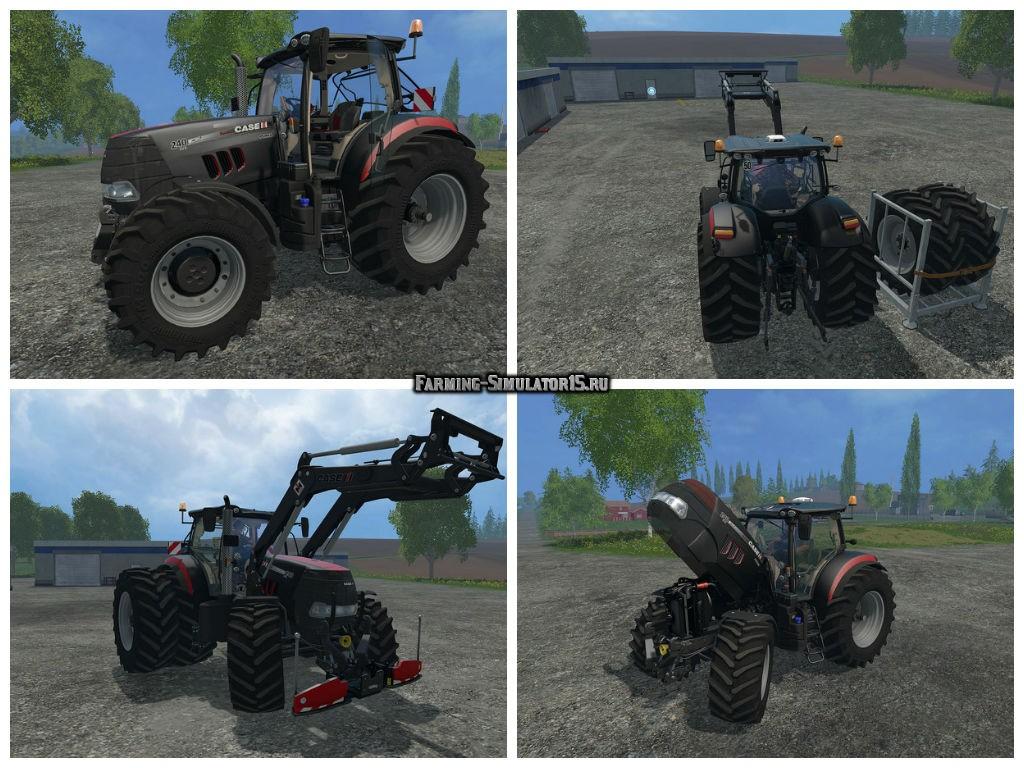 Мод трактор Case IH Puma 240 Premium Pack v 1.6.1 Farming Simulator 2015