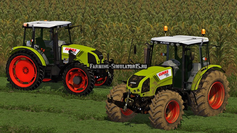 Мод трактор Claas Axos 330 v 1.0 Farming Simulator 15