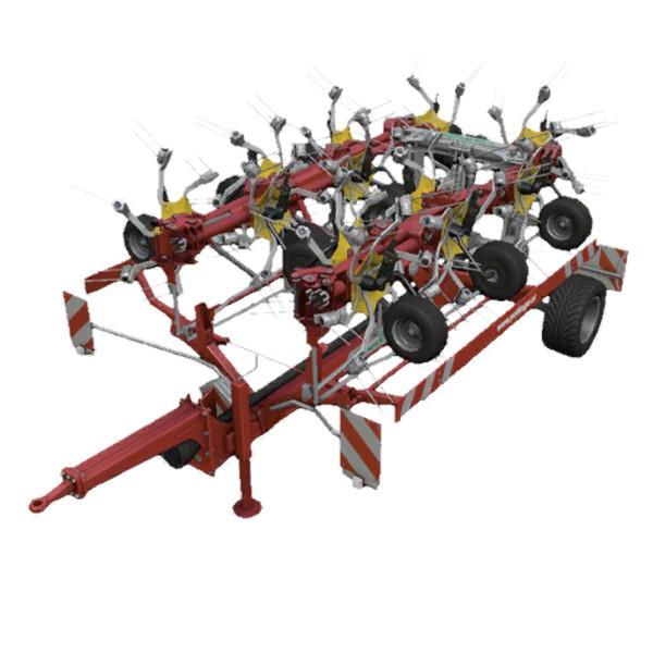 Мод ворошилка Poettinger Hit 1214T v 1.0 Farming Simulator 15