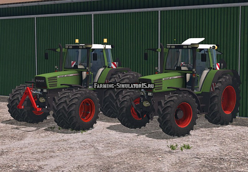Мод трактор Fendt Favorit 515C Washable v 2.0 Farming Simulator 2015