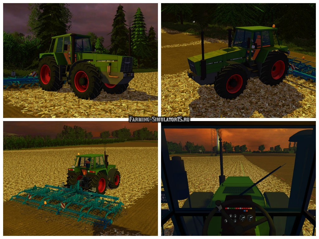 Мод трактор Fendt Favorit 622 LS v 1.0 Farming Simulator 2015