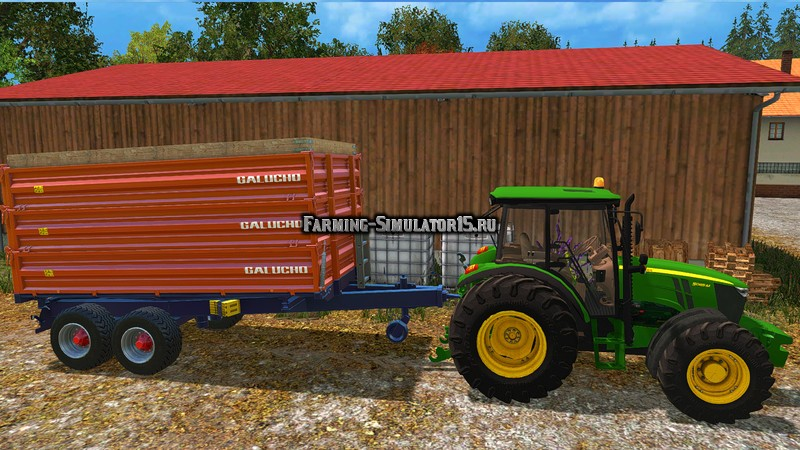 Мод прицеп Galucho RB v 1.0 Farming Simulator 2015