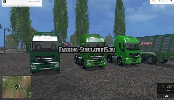 Мод грузовики Iveco Hiway v 1.5 Farming Simulator 2015