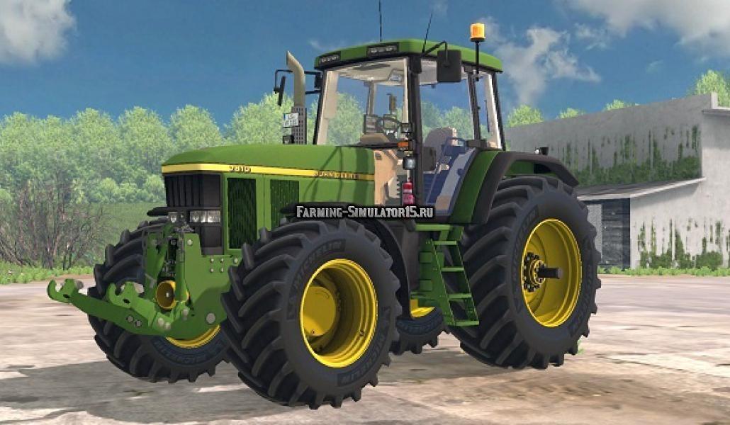 Мод трактор John Deere 7810 & 7710 v 0.9 Beta Farming Simulator 15
