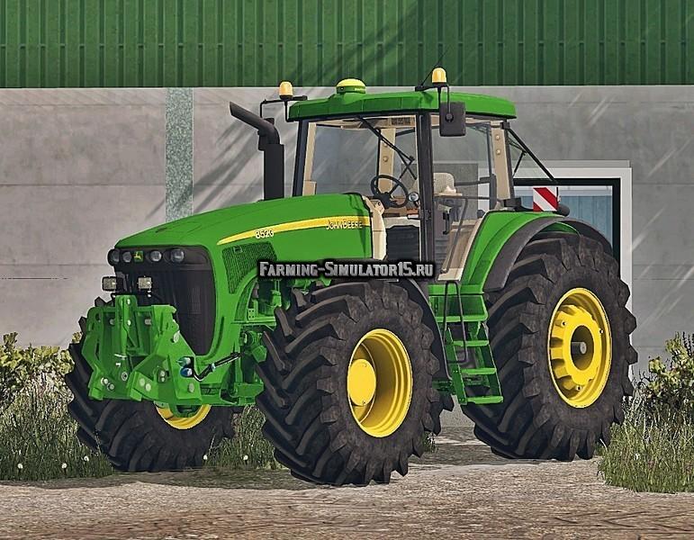 Мод трактор John Deere 4020 FL v 3.0 Farming Simulator 15
