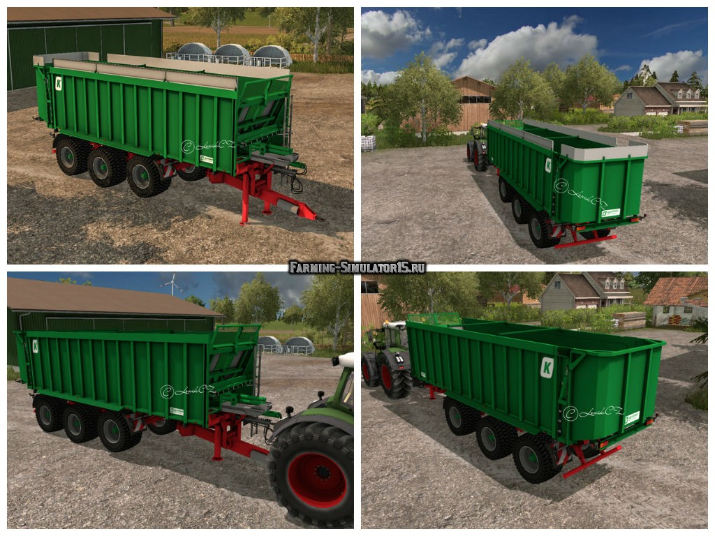 Мод прицеп Kroeger Agroliner TAW 30 v 1.0 Farming Simulator 15