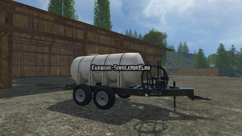 Мод бочка Lizard Fertilizer Trailer v 1.1 Farming Simulator 15