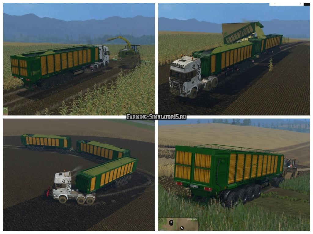 Мод прицеп MBJ chopped semitrailers v 1.1 Farming Simulator 2015