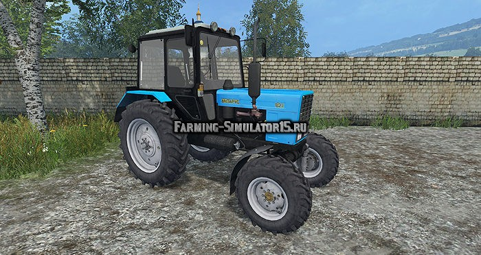 Мод трактор МТЗ Беларус MTZ 892.2 v 2.0 Фарминг Симулятор 2015