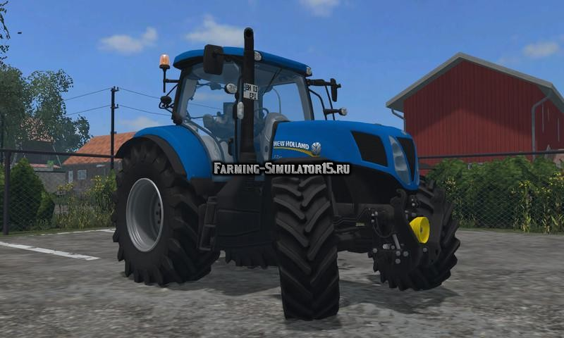 Мод трактор New Holland T7.170 v 1.0 Farming Simulator 2015