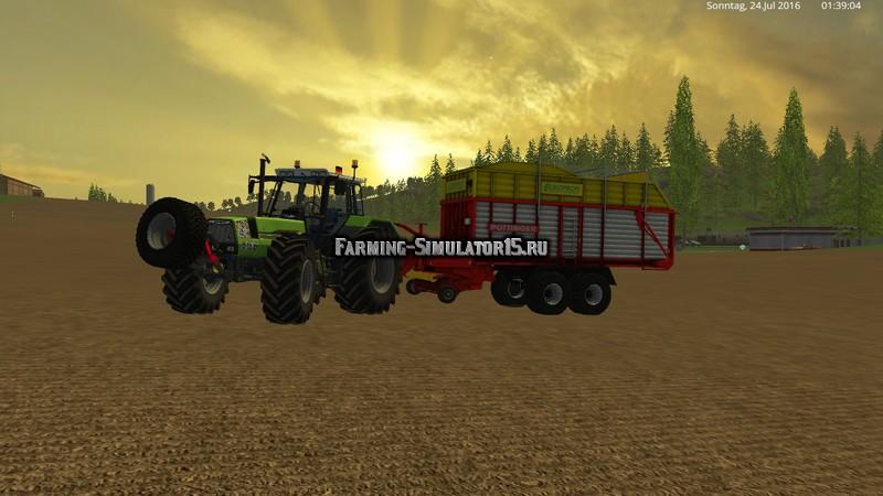 Мод прицеп Poettinger Europrofi 5000 v 1.0 Farming Simulator 15