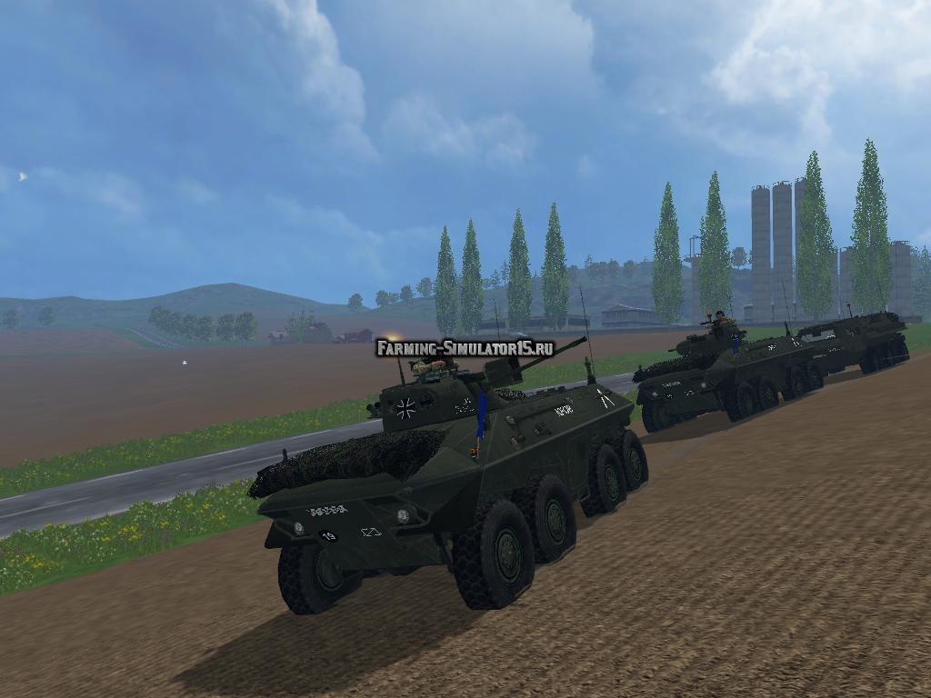Мод SPPZ 2 Luchs v1.0 Farming Simulator 2015