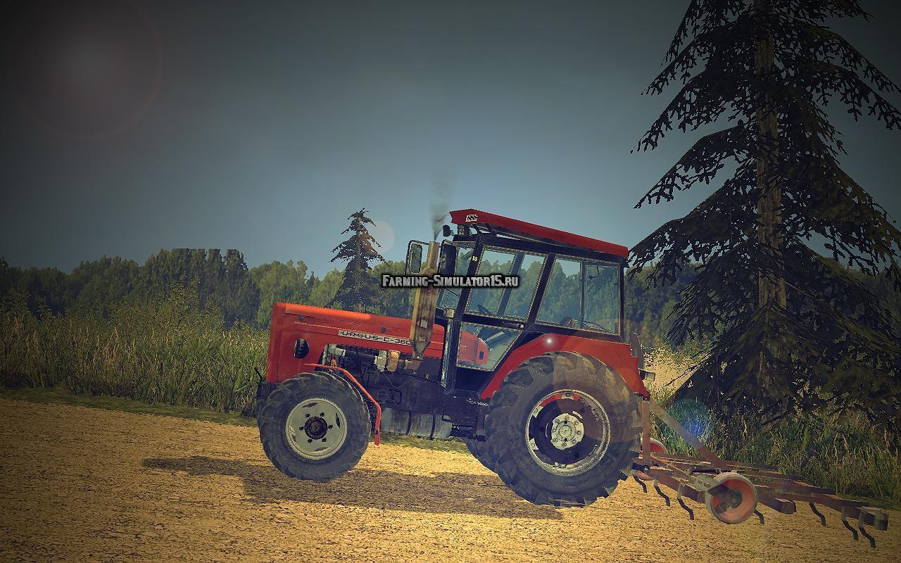 Мод трактор Ursus C360 4x4 Turbo v 1.0 Farming Simulator 15