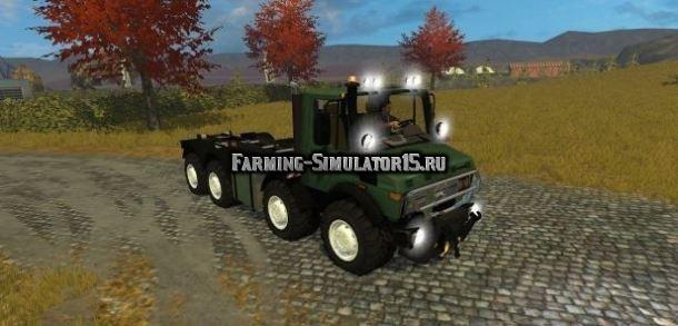 Мод грузовик Unimog 2450 8x8 HKL v 1.0 Farming Simulator 2015