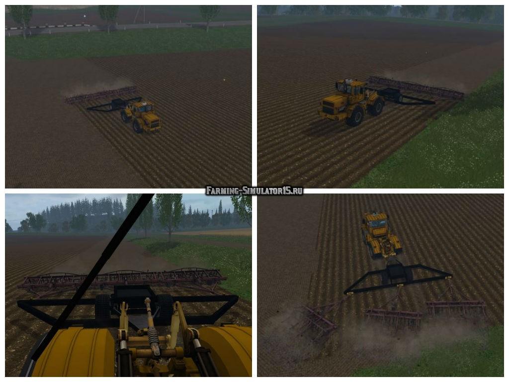 Мод КПС-4 и сцеп v 1.0 Фермер Симулятор 2015