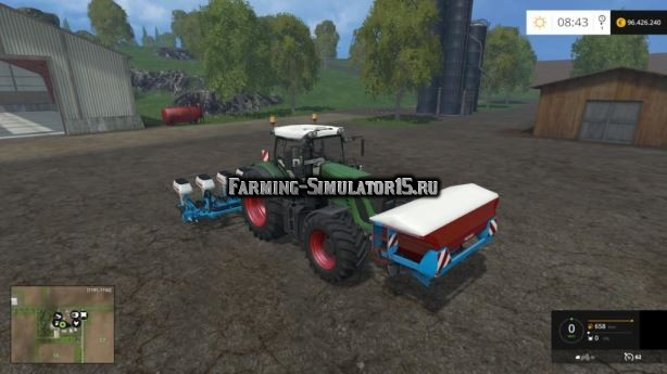 Мод Monosem pack v 1.0 Farming Simulator 2015
