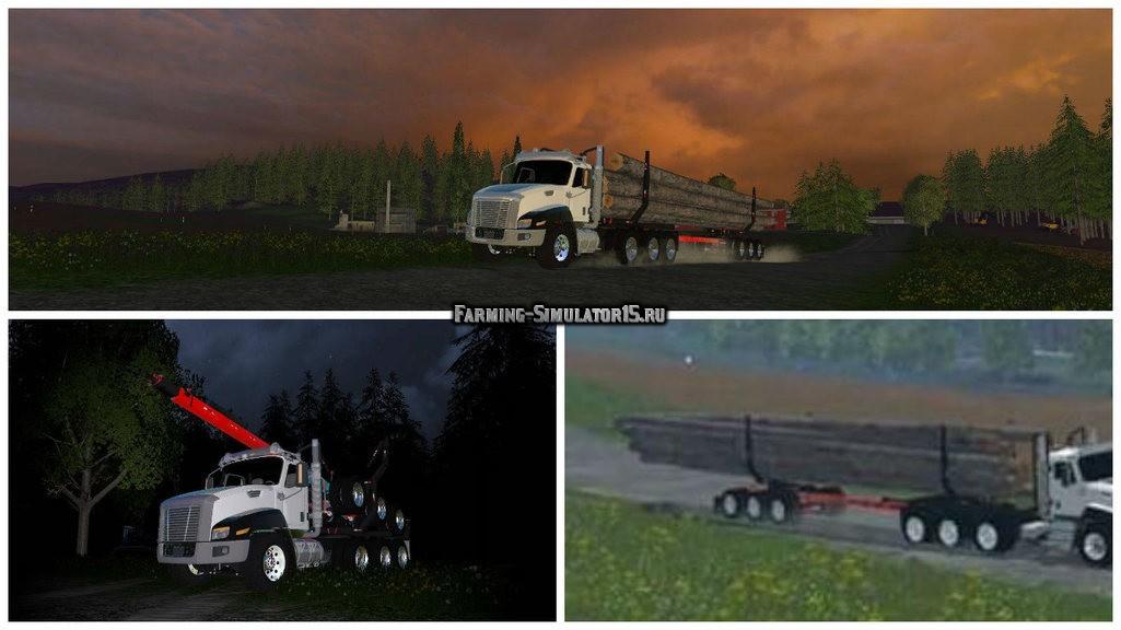 rsz_Мод_грузовик_cat_ct660_log_truck_and_trailer_with_turning_bunks_Фермер_Симулятор_2015