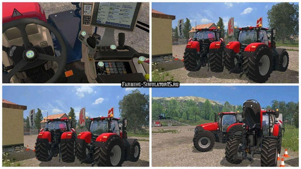 Мод трактор Case Optum 300 CVX v 1.4.3 Farming Simulator 15