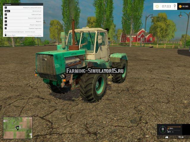 Мод трактор ХТЗ Т-150К v 1.0 Фермер Симулятор 2015