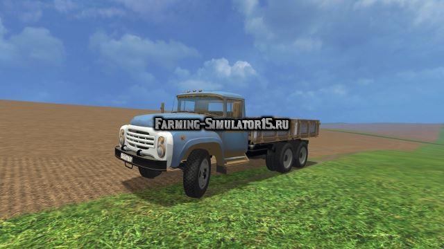 Мод грузовик Зил 133 v 1.0 Фермер Симулятор 2015