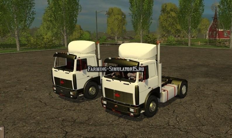 Мод грузовики Maz 5432 & 6422 v 1.0 Фермер Симулятор 2015