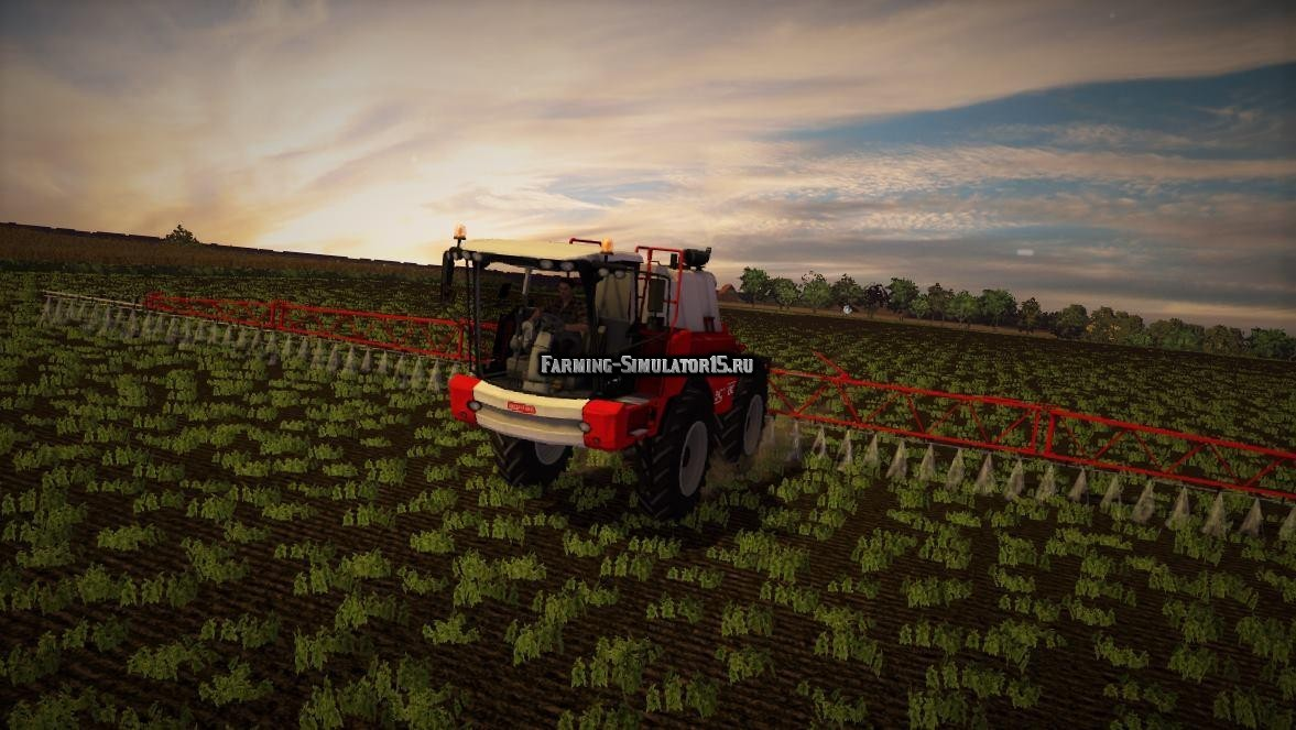 Мод опрыскиватель Agrifac Condor v 2.0 Farming Simulator 15