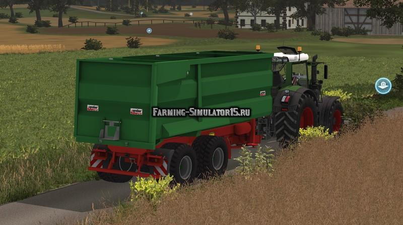 Мод прицеп Kroeger Agroliner MUK 303 v 1.0 Farming Simulator 15