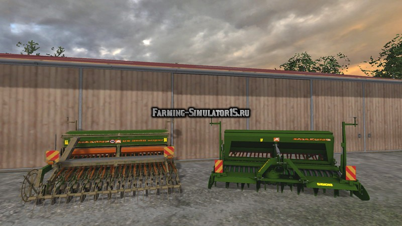 Мод сеялка Amazone D3000 Super v 1.0 Farming Simulator 2015