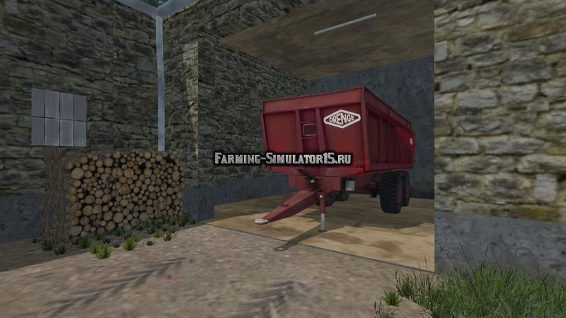 Мод прицеп Benne Orenge v 1.0 Farming Simulator 2015