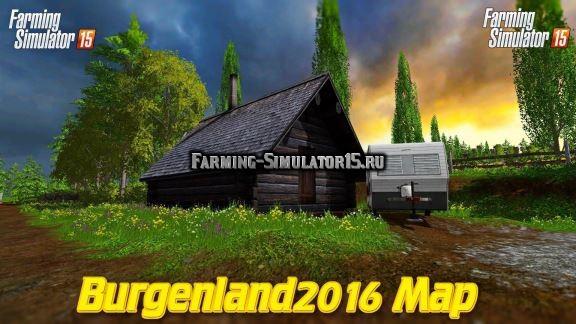 Мод карта Burgenland 2016 v 1.7 Farming Simulator 15