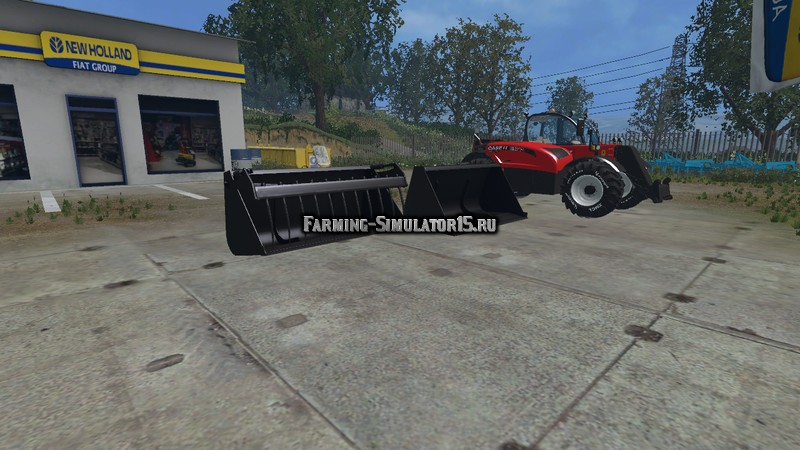 Мод погрузчик Case Farmlift 632 Pack v 1.0 Farming Simulator 2015