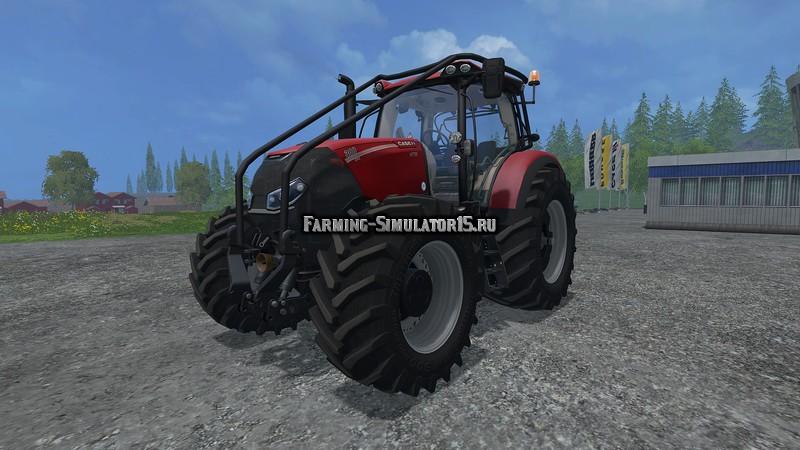 Мод трактор Case Optum 300 CVX v 1.5.3 Farming Simulator 2015