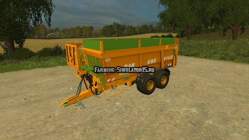 Мод прицеп Dangreville V 1.0 Farming Simulator 2015