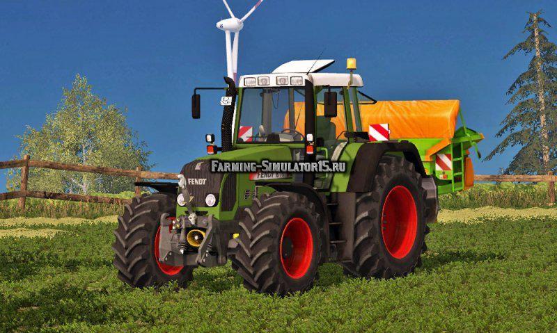 Мод трактор Fendt 818 Vario TMS v 1.0 Farming Simulator 15