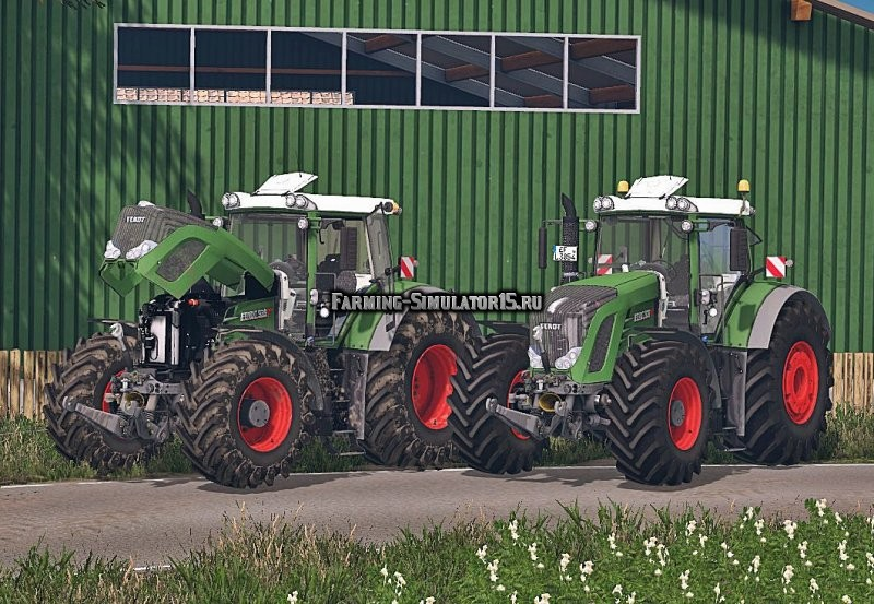 Мод трактор Fendt 939 Vario Full v 1.0 Farming Simulator 2015