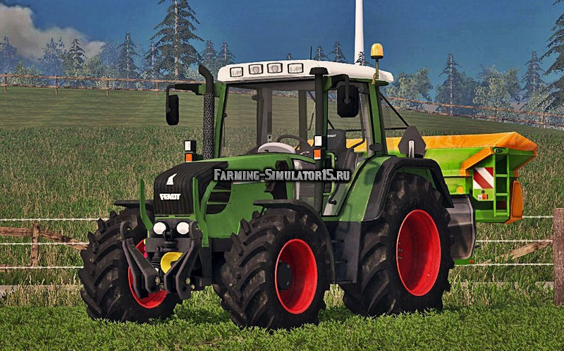 Мод трактор Fendt 312 Vario TMS Washable v 1.0 Farming Simulator 15