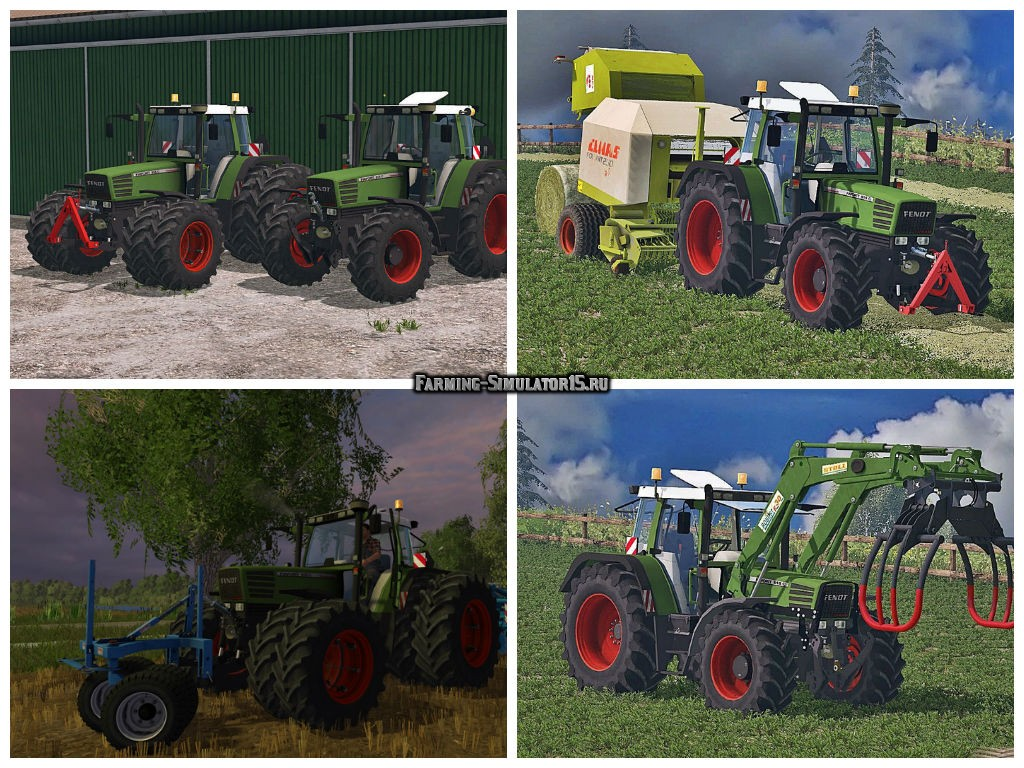 Мод трактор Fendt Favorit 515C Washable v 3.0 Farming Simulator 2015